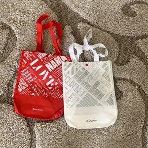 Lululemon Love / Stress Reusable Shopping Tote